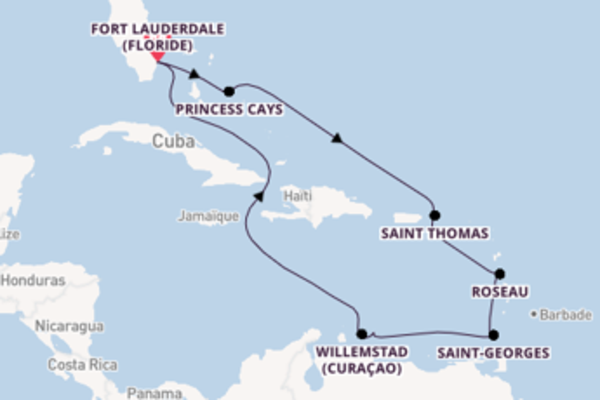 Merveilleuse balade de 11 jours avec Princess Cruises
