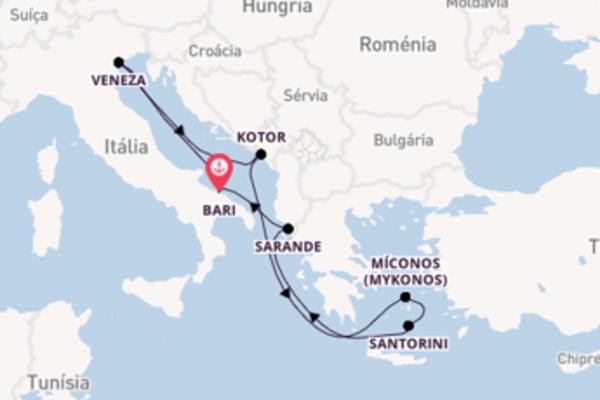 Navegue a bordo do MSC Sinfonia em 8 dias