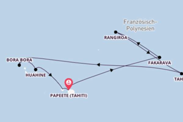 Tahiti und Tuamotu Inseln Rundreise