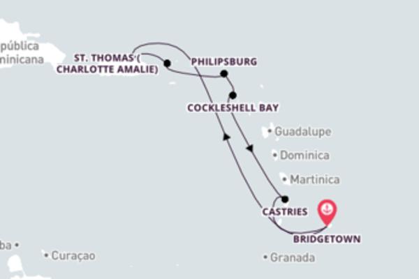 Navegando no Carnival Fascination por 8 dias