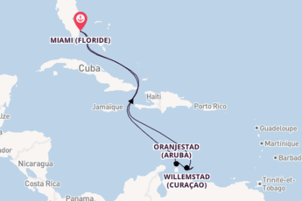 Somptueuse balade de 9 jours avec Carnival Cruise Lines