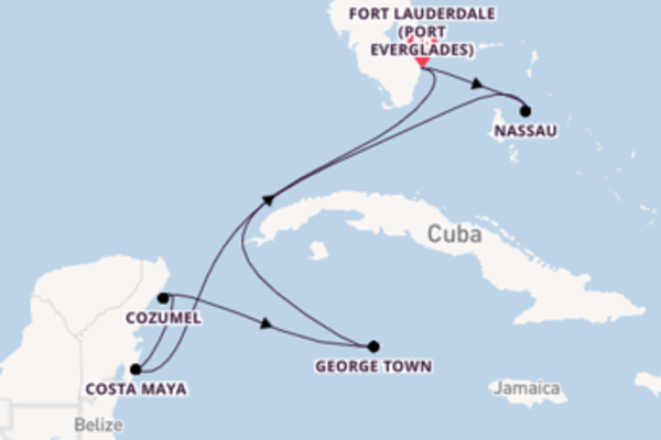 Cruise from Fort Lauderdale (Port Everglades) with the Celebrity Edge