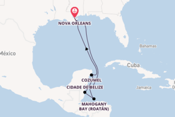 Cruzeiro de 9 dias a bordo do Carnival Glory
