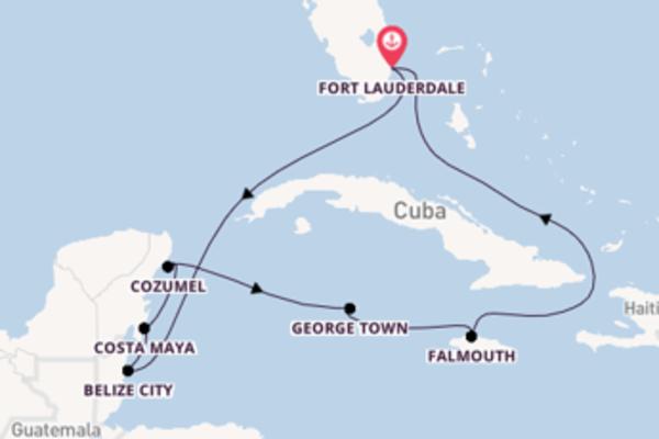 9-daagse reis naar Fort Lauderdale