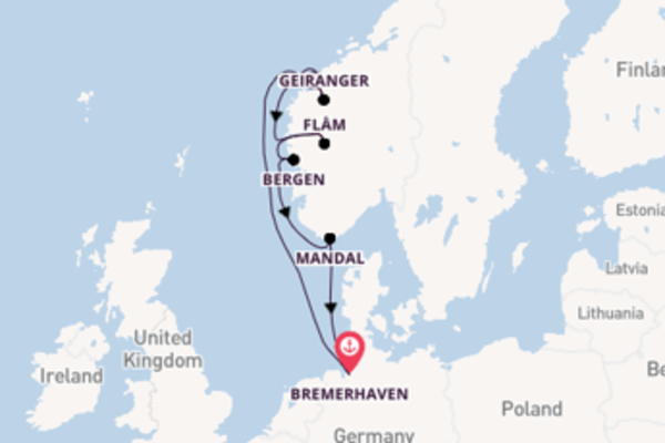 In 8 dagen naar Bremerhaven, Duitsland
