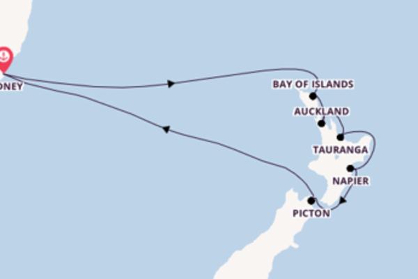 Cruise with Celebrity Cruises from Sydney