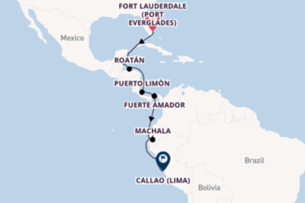 Charming Fort Lauderdale (Port Everglades) to charming Callao (Lima)