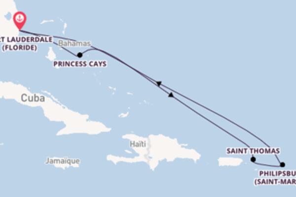 Dépaysante croisière avec Princess Cruises pendant 8 jours