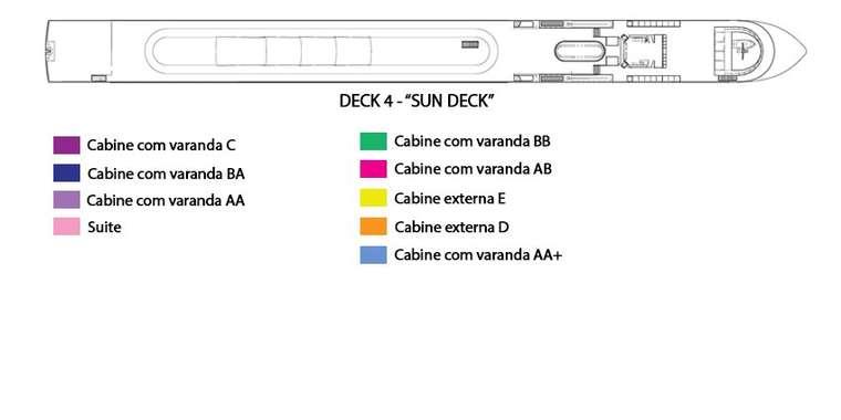 AmaSonata Deck 4 - Sun Deck