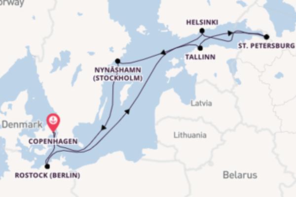 Wonderful trip from Copenhagen with Norwegian Cruise Line