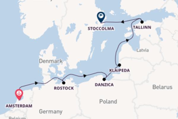 Da Amsterdam a Stoccolma passando per Pionerskij in 8 giorni