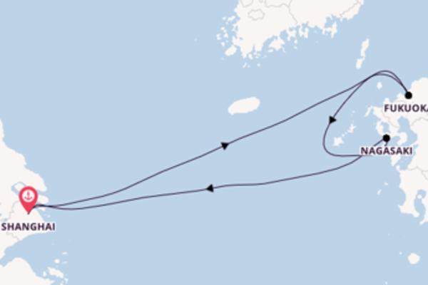 Magnifico viaggio di 6 giorni verso Fukuoka a bordo di Spectrum of the Seas