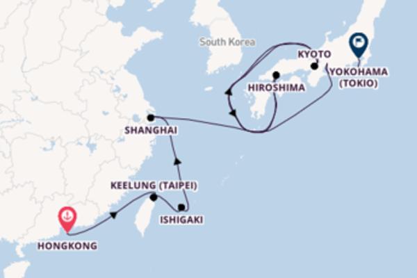 Keelung (Taipei) verkennen met de Nautica