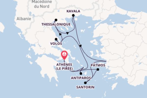 11 jours de navigation à bord du bateau Azamara Journey depuis Athènes (Le Pirée)
