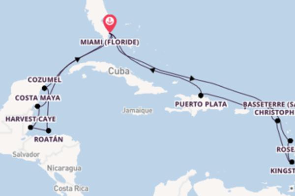 Admirez avec Oceania Cruises, la destination: Roseau