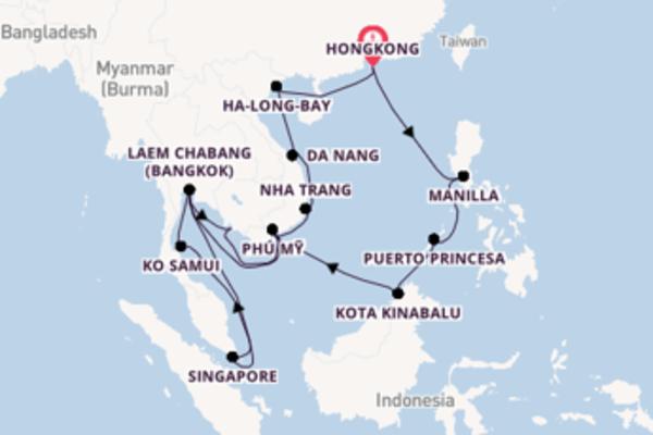 Bezoek Da Nang met Holland America Line