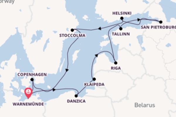 Scopri Tallinn e Warnemünde