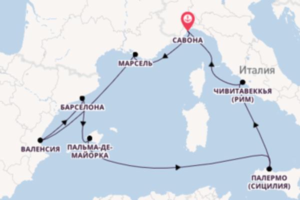 Лучезарное путешествие на Costa Toscana