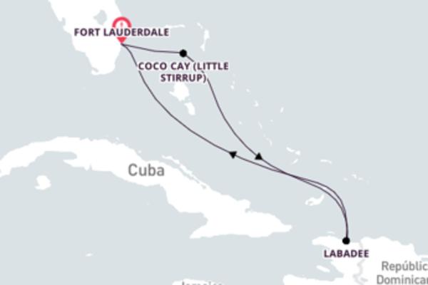 Emocionante cruzeiro até Fort Lauderdale