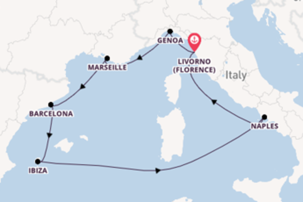 8 day expedition from Livorno (Florence)