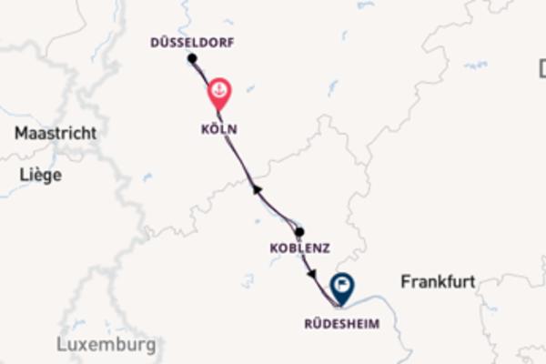 Erkunden Sie 380 Tage Düsseldorf und Düsseldorf