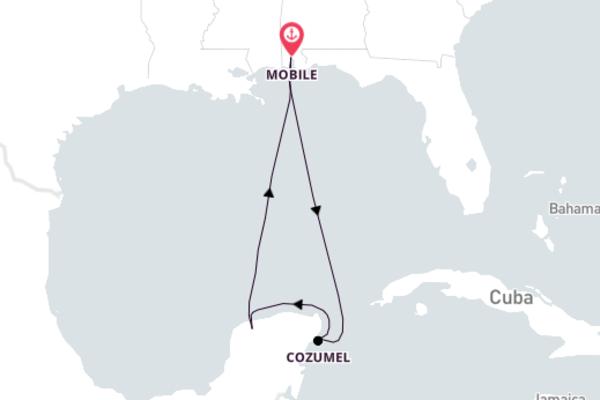 6-Day Spectacular Discovery to Progreso/Yucatán