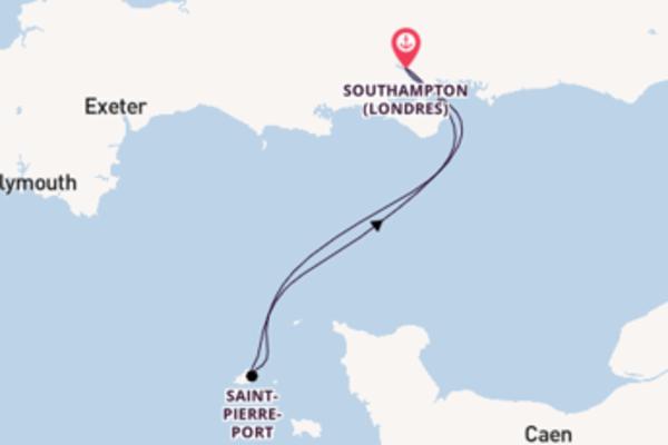 Passionante balade de 3 jours au départ de Southampton (Londres)