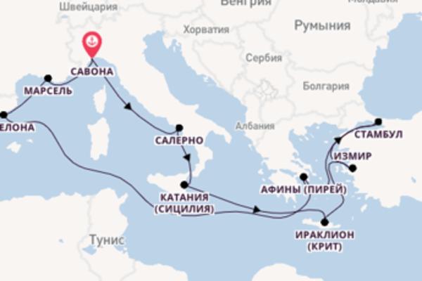 Невероятное путешествие на Costa Diadema