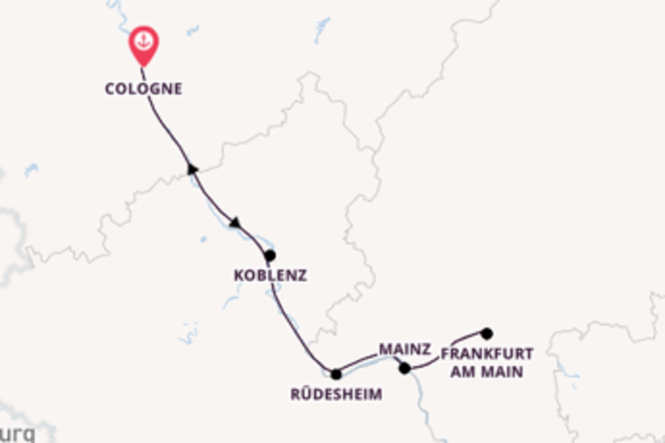 Journey with A-ROSA Cruises from Cologne