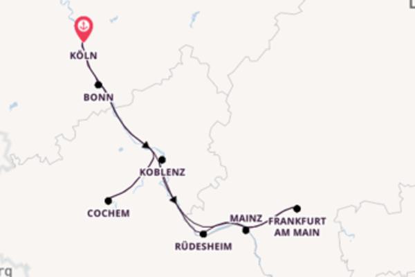 5 Tage Rhein Kreuzfahrt