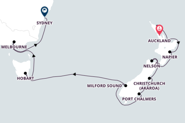 Cruising from Auckland to Sydney with Azamara Pursuit