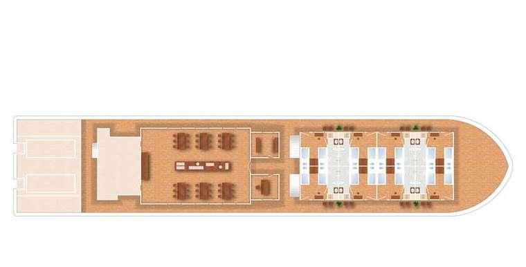 Pandaw II Main Deck