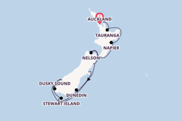 Neuseelands Küstenstädte entdecken