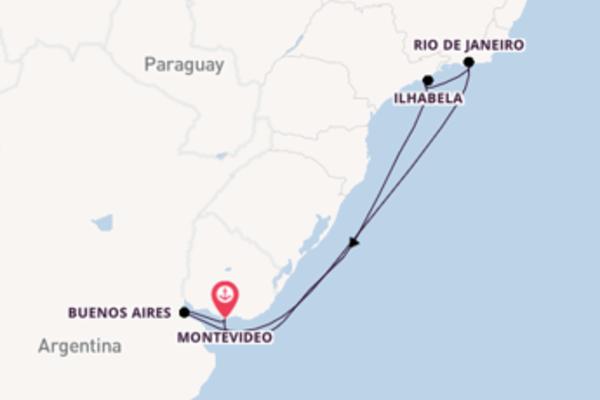 Appassionante crociera di 8 giorni a bordo di Costa Pacifica