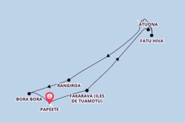13 jours pour découvrir Ua Pou à bord du beateau Aranui V