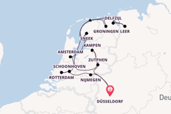 11 Tage Rhein Kreuzfahrt