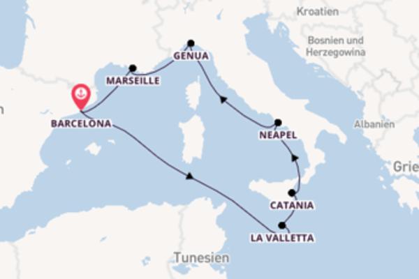 Faszinierende Reise mit der Costa Luminosa