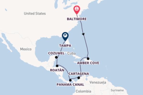 Cruising from Baltimore to Tampa