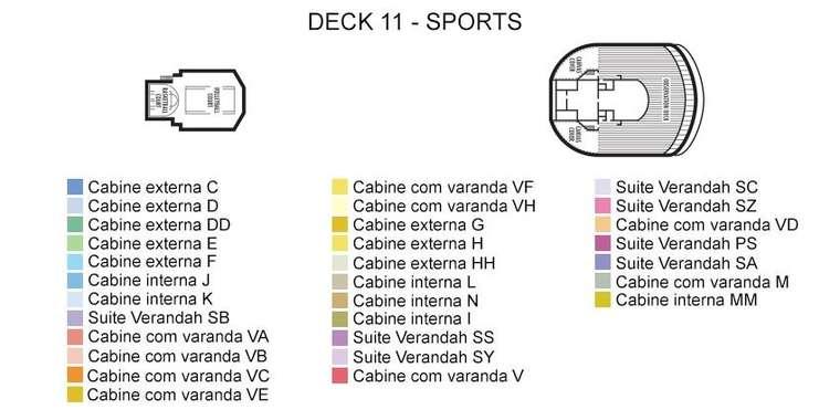 Oosterdam Deck 11 Sports