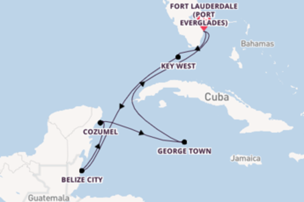 Expedition with Celebrity Cruises from Fort Lauderdale (Port Everglades)