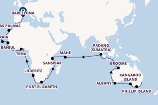 Einmalige Kreuzfahrt mit der Seabourn Sojourn