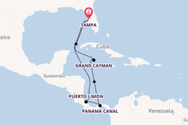 Sail with the Carnival Legend from Tampa, Florida