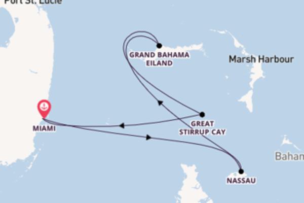 5-daagse cruise met de Norwegian Sky vanuit Miami