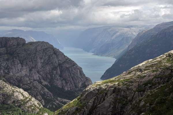 Фьорд Фьярланд, Норвегия
