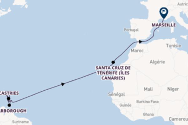 21 jours pour découvrir Scarborough à bord du bateau Costa Favolosa