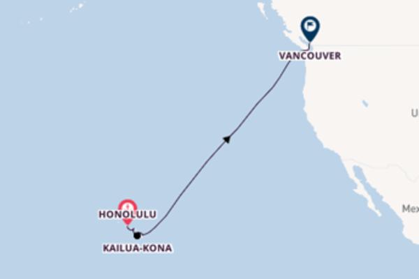 12-daagse reis aan boord van de Celebrity Eclipse