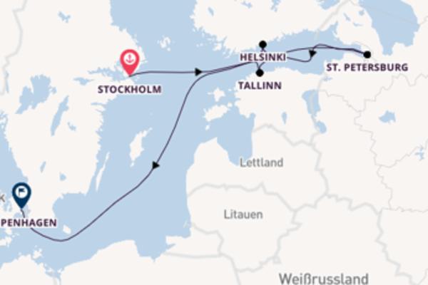 Eindrucksvolle Reise nach Kopenhagen