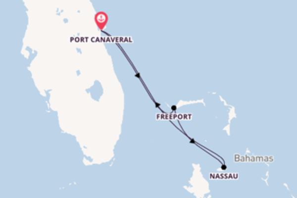 Lasciati affascinare da Nassau partendo da Port Canaveral