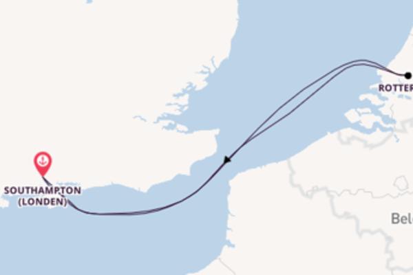 Ga mee op het MSC Magnifica naar Southampton (Londen)