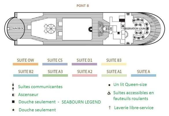 Seabourn Spirit Pont 8